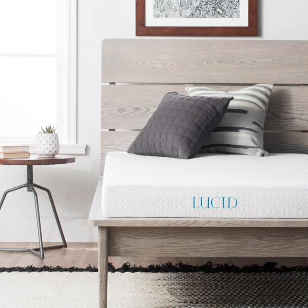 5 Inch Gel Memory Foam Mattress Twin Lucid