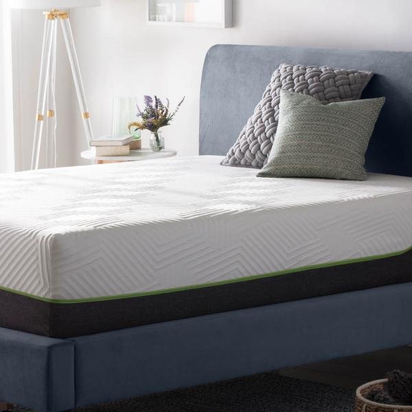Lucid 12 Inch Latex Hybrid Mattress Lucidmattress Com